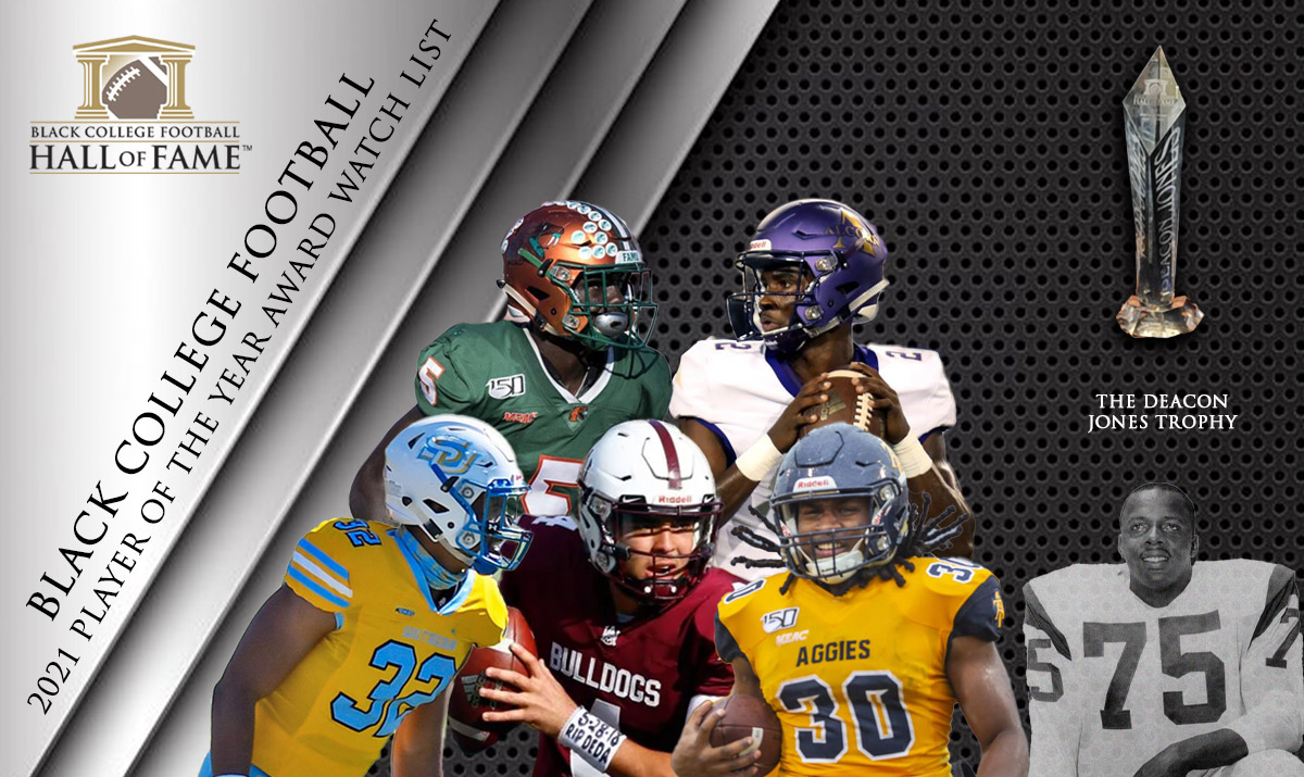 2021 Black College Football Player of the Year Award Watch List